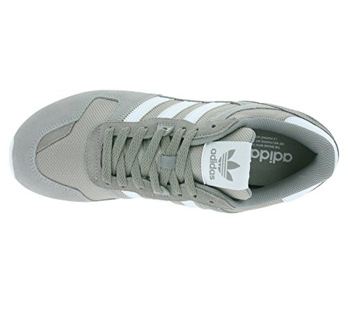 adidas ZX 750, Sneakers basses homme Gris (Ch Solid Grey/ftwr White/mgh Solid Grey)