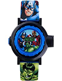 Avengers AVG3536 - Orologio digitale per bambini con display digitale multicolore e cinturino in PU blu