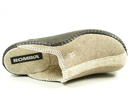 Romika Mokasso 62, Pantofole Donna Beige (Natur-kombi 211 211)