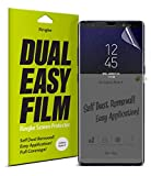 Ringke Dual Easy Full Coverage Screen Protector for Galaxy Note 8 High Resolution