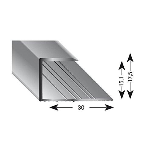 Kügele 11150 SD 100 Gleitabschlussprofil U Alu sand eloxiert 15/1000 mm - Sand Parkett