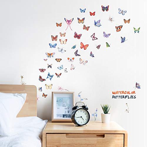 Jkhhi Wandaufkleber Fledermaus Words Muster Halloween Wanddekoration Wandtattoo Wandbilder Kunstdruck Hintergrund Aufkleber Für Dekoration -