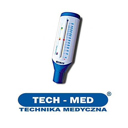 Techmed TECH-MED Mechanischer Pikflowmeter Spirometer Peak-Flow-Meter