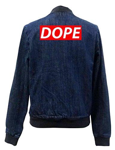 Dope Block Jeans Bomberjacke Certified Freak-S