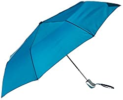 Shedrain Umbrellas Auto Open Compact, Blue Spruce, One Size