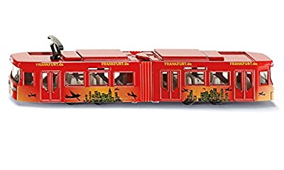 Siku 1615 Straßenbahn, farblich sortiert von SIKU