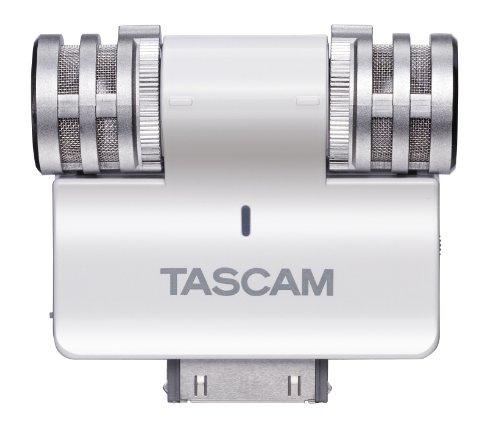Tascam iM2-W Microfono per iPhone 4/4S, Grigio