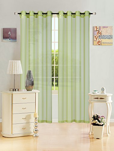 kashi-home-leah-collection-window-sheer-curtain-panel-55x-84-lightweight-solid-sheer-design-in-lime-