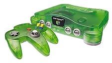 Console Nintendo 64 Verte Transparente