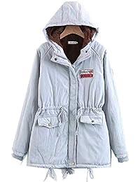 Saoye Fashion Cappotto Invernale Da Donna In Cotone Invernale Con Giovane  Collo In Pelliccia Giacca Con Cappuccio Giacca Da Esterno Giacca… 014fb8d5a85