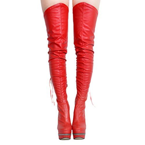 EKS, Bottes pour Femme red