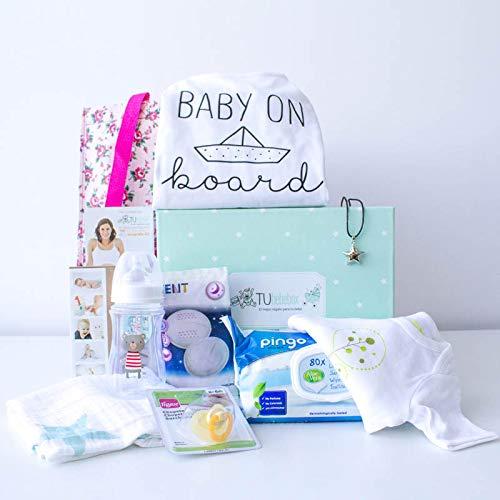 Caja regalo embarazada original - Cesta regalo embarazada