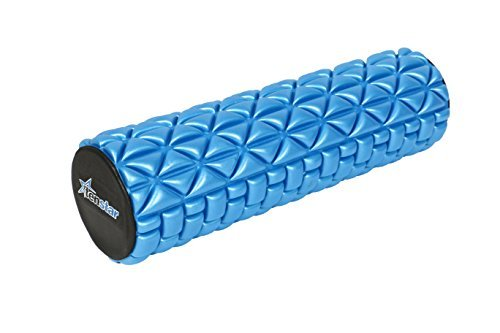 Tenstar Fitness Massage Foam Roller Therapy Yoga Gym Physio Injury Foam Roller High Quality With Cover