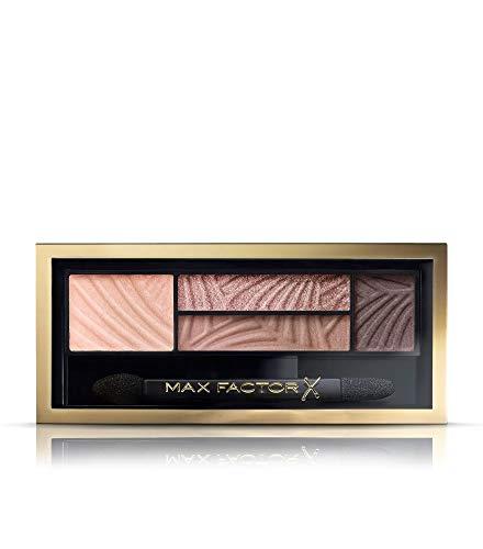 Max Factor Smokey Eye Drama Kit Opulent Nudes 01 - Lidschatten-Palette mit 4 neutralen Tönen mit mattem und schimmerndem Finish - Für alle Augenfarben