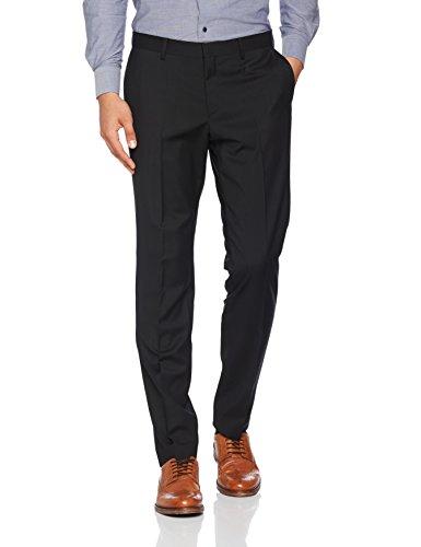Tommy Hilfiger Tailored Herren  Anzughose  STSSLD99003 Schwarz (099 099), 44 (Business-anzug Wolle-italienische)