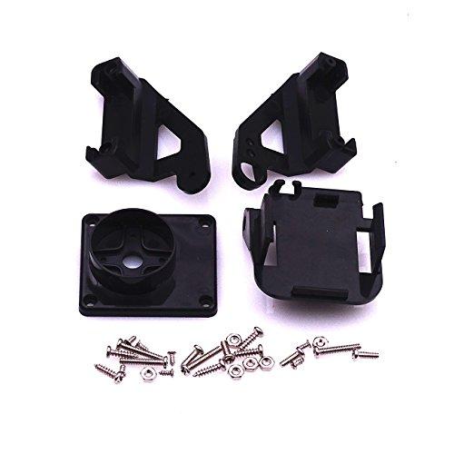 5sets Servo Halterung PT Pan/Tilt Kamera Plattform Anti-Vibration Kamerahalterung für Flugzeuge FPV gewidmet Nylon PTZ für 9G SG90