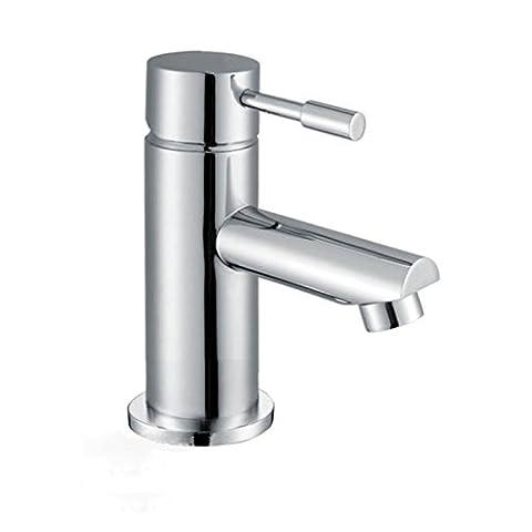 BLOSSOM BATHROOM CLOAKROOM BASIN SINK MONO MIXER TAP CHROME SOLID BRASS CERAMIC DISCS