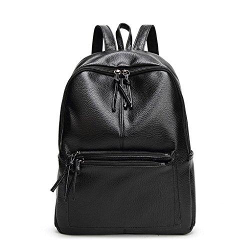 Taschen,Oyedens Neue Art Und Weise Frauen PU-Leder Schulranzen Schulterrucksack (Louis Vuitton Neue Tasche)