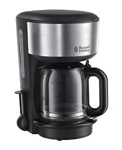 Russell Hobbs Glas-Kaffeemaschine Oxford, 1.25l, Brausekopf-Technologie,...