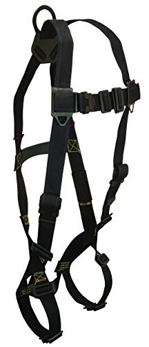 falltech-7047-arc-flash-nomex-kevlar-full-body-harness-1-back-d-ring-coated-mating-buckle-legs-chest