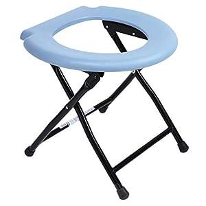 GLJY Faltbare Toilette, Portable Kommode Stuhl, Reisen Camping Festival Park Angeln Im Freien