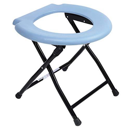 GLJY Faltbare Toilette, Portable Kommode Stuhl, Reisen Camping Festival Park Angeln Im Freien (Camping Stuhl Portable)