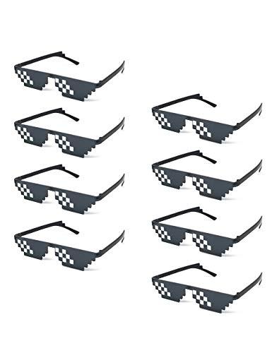 Onnea 8 Piezas Mosaico Gafas de Sol de Fiesta para Mujer...
