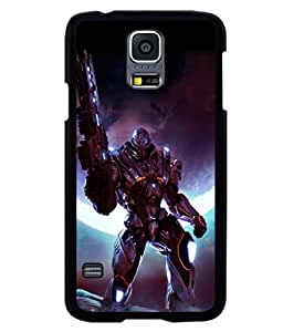 printtech Space Hero Warrior Game Back Case Cover for Samsung Galaxy S5 G900i::Samsung Galaxy S5 i9600::Samsung Galaxy S5 G900F