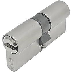 Iseo R6 - Bombillo de seguridad, leva corta (níquel, 30 x 35 mm)