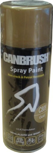 canbrush-specialist-metal-plastic-and-wood-spray-paint-gold-c808-400ml
