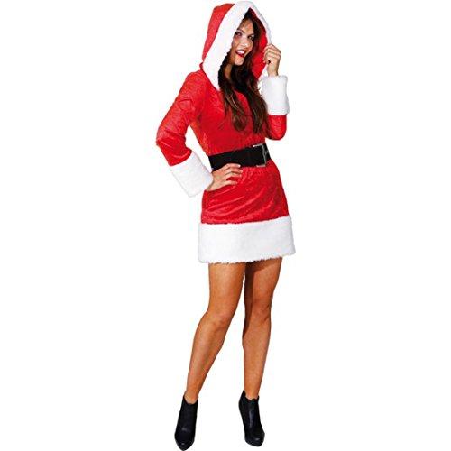 Nikolaus Kostüm Frauen - NET TOYS Sexy Weihnachtsfrau Kostüm Damen
