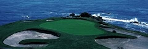 Panoramic Images – Pebble Beach Golf Course 8th Green Carmel