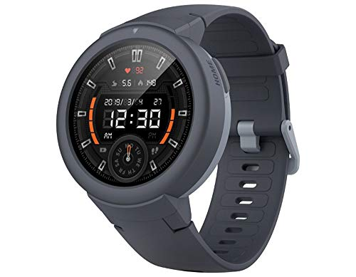 Amazfit Verge Lite Smartwatch Bluetooth Fitness-Tracker (Shark