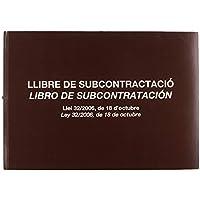 Miquelrius 5389 - Libro subcontratación, lengua catalana