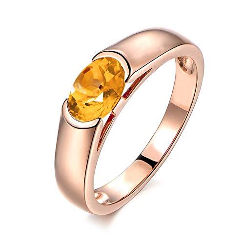2e475e5930fa Blisfille Joyas Anillos de Compromiso Pandora Anillo de Oval Shape Anillo  Oro Diamante Anillo de Plata