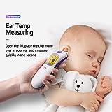 Bebliss Thermomètre numérique Infrarouge Infrarouge pour bébé Front Adulte bébé, Instruments...
