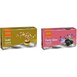 VLCC COMBO OF GOLD AND PARTY GLOW FACIAL KIT