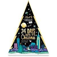 Lindt HELLO Tannenbaum Adventskalender 2021 | 230 g Milchschokolade | Ideales Schokoladen-Geschenk