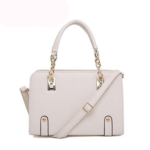 koson-man-womens-patent-leather-matel-shoulder-tote-bags-top-handle-handbagwhite