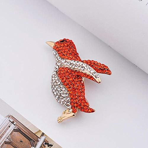 KXCTQ Brosche, Kreative Mode Bekleidungszubehör, Bekleidungszubehör, Zodiac Monkey, Pinguin Boutonniere Ornament, 3 (Red Designs Monkey)