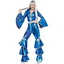 SmiffyS 41159S Disfraz De El Sueño Del Baile, Incluye Enterizo Con Cordones, Azul,