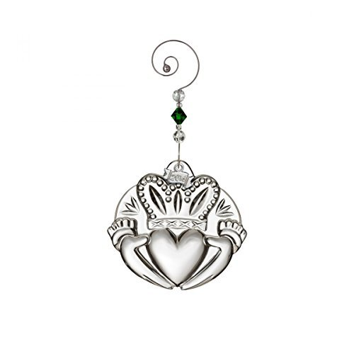 l Irish Claddagh Crystal Christmas Ornament Decoration New by Waterford (Irish Christmas Ornamente)