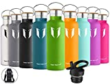 Best Insulated Water Bottle Straws - Super Sparrow Stainless Steel Vacuum Insulated Water Bottle Review