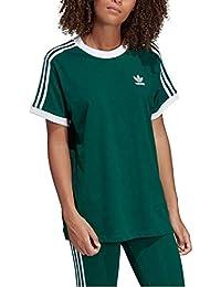 Adidas 3 Stripes tee Camiseta, Mujer, veruni, 38