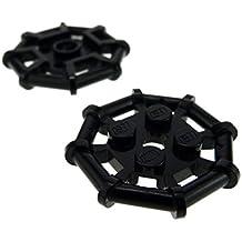 2 Stück LEGO®  1x4x3 Fenster weiß schwarze Gefängnis Gitter