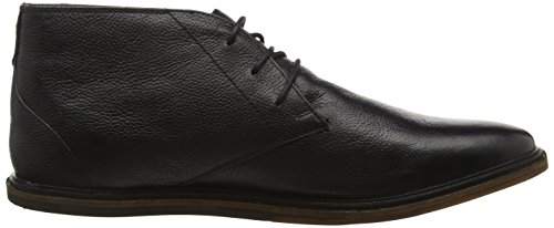 Frank Wright Walker, Stivaletti Uomo Nero (Nero (Black Leather))