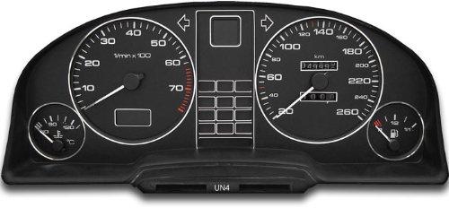 Drive Zero #tr_audi-100 Tachodekorset Chrom
