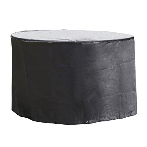 Monkey Mountain 30297 Schutzhülle DELUXE für runden Gartentisch oder Lounge-Möbel inklusive Tragebeutel - Ø 125 x 83 cm – hochwertiges Oxford Polyester 420D