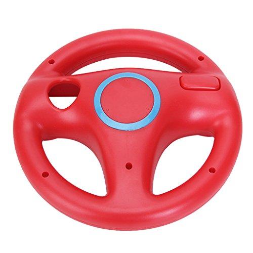 Sharplace Lenkrad Racing Wheel für Nintendo WII - Red