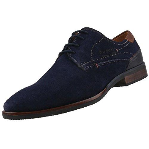 bugatti Herren 311167011400 Derbys Blau (Dark Blue)